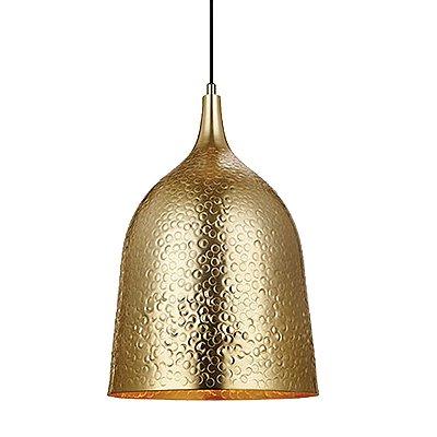 Pendente Metal Dourado 1L Ø28CM 106175 - Premier