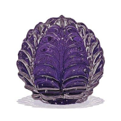 Adorno Pinha de Cristal de Murano Flor 4699