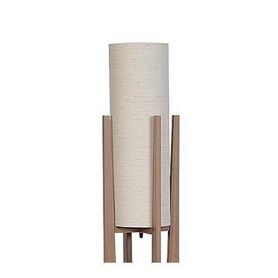 Luminária Coluna de Chão em Imbuia 1050-03 Trevisan