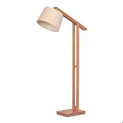 Luminária Coluna de Chão em Imbuia 251-03 Trevisan