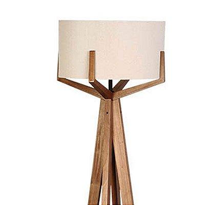 Luminária Coluna de Chão em Imbuia 917-03 Trevisan