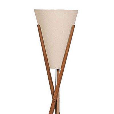 Luminária Coluna de Chão em Imbuia 949-03 Trevisan