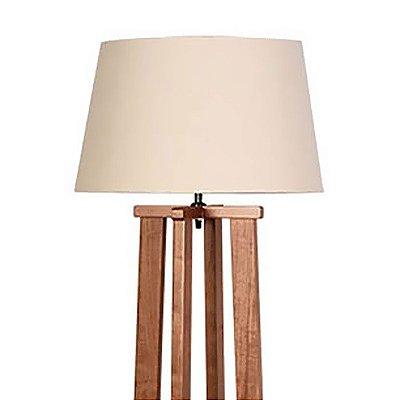 Luminária Coluna de Chão em Imbuia 250-03 Trevisan