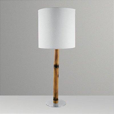 Abajur Para Quarto Bambú M062 Golden Art