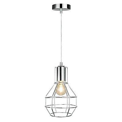 Luminária Pendente Aramado Lâmpada Premier P12105M
