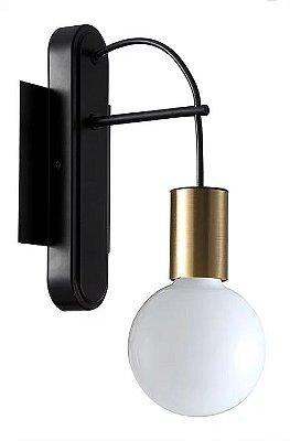 Luminária Arandela Trace 1x27 40W Quality QAR1351