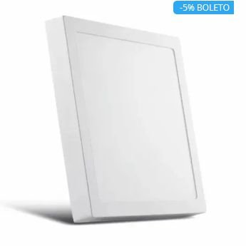 Plafon LED Painel Quadrado 30/36W 3000k 4000k e 6000k