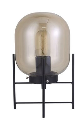 Abajur Flint Quality QAB1335 Preto ou Dourado