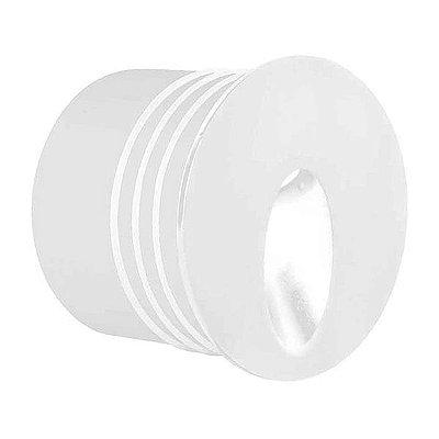 Punt Balizador de Embutir 3W Branco Lx1273 Bella