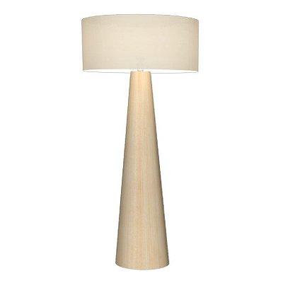 Luminária Coluna Chão Madeira Cônica Accord 3004