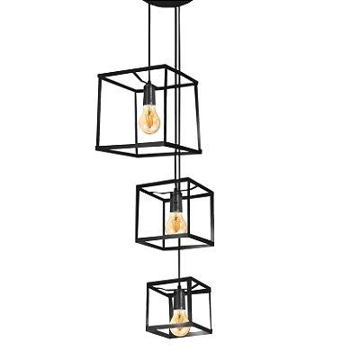 Luminária Pendente Quadra Spot Line 667-3