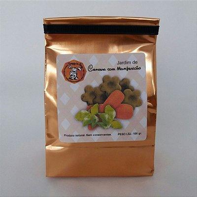 Petisco para Cachorro - Palitos de Cenoura com Manjericão