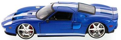 Carro Ford GT (Azul) Fast & Furious - Die-Cast 1:24