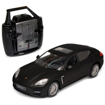Carrinho Controle Remoto Porsche Panamera turbo (Preto) DTC  1:14