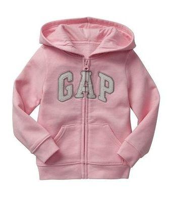 Blusa de moletom GAP com ziper  (pronta entrega)