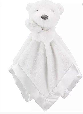 Naninha de pelúcia Urso Branco Carter's