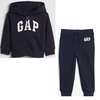 Conjunto Moletom GAP - Blusa de ziper GAP Menino (pronta entrega)