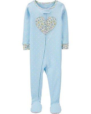 Macacão Pijama Algodão Carter's (pronta entrega)