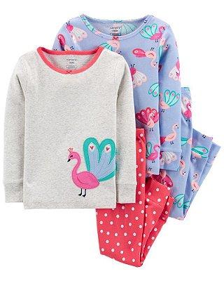 Kit 2 Pijamas Algodão Carter's