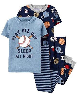 Kit 2 Pijamas Carter's (pronta entrega)