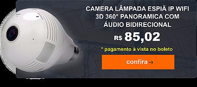 Camera Lampada Espia