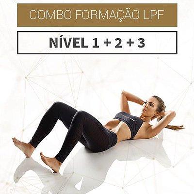 Combo Formação LPF - Nível 1 + Nível 2 + Nível 3