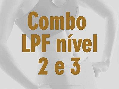 Combo Promocional Formação LPF - Curso nível 2 + nível 3