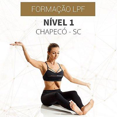Curso Nível 1 com Formação LPF em Chapecó - SC