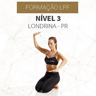 Curso Nível 3 com Formação LPF em Londrina - PR (DEZEMBRO - 2021)