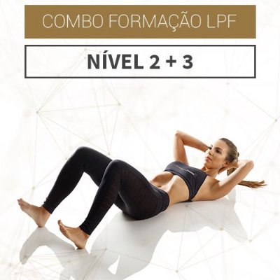 Combo Formação LPF - Nível 2 + Nível 3