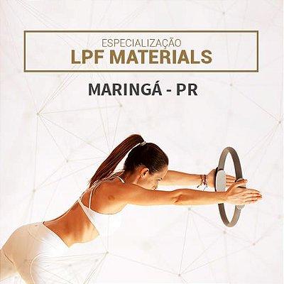 Especialização LPF MATERIALS em Maringá - PR