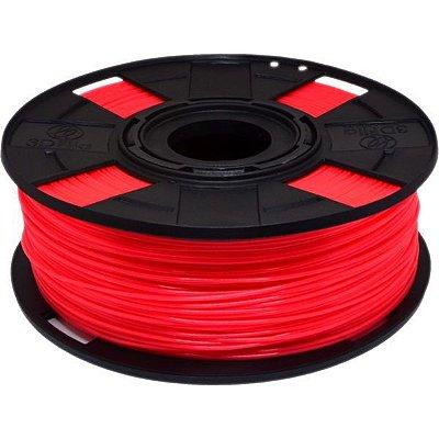 Filamento ABS Premium+ 1,75mm Rubi Neon
