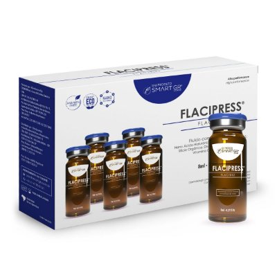 FLACIPRESS® - Flacidez Cutânea - 5 Frascos de 8 ml