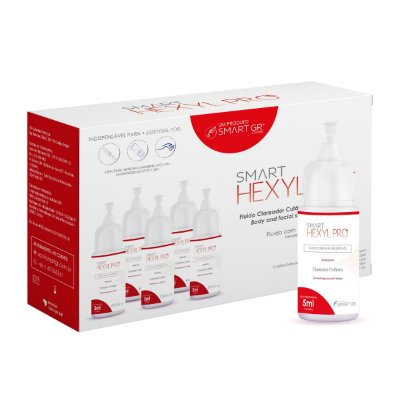 Smart Hexyl Pro Clareador Cutâneo - 5 Monodoses de 5ml