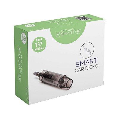 Cartucho Smart Derma Pen Preto - Caixa c/ 10 unidades - 137 agulhas (nano)