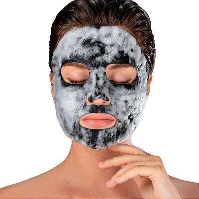 Máscara Facial Superfood Bubble O² Carvão Ativado