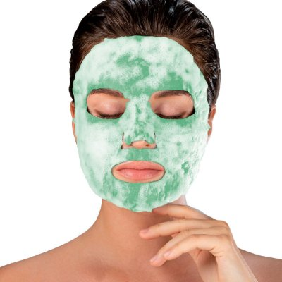 Máscara Facial Superfood Bubble O² Chá Verde
