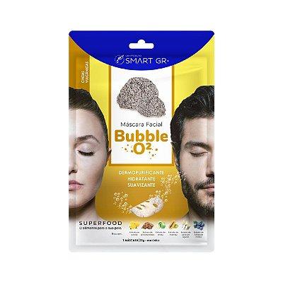Máscara Facial Superfood Bubble O² Cinzas Vulcânicas