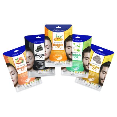 Kit Máscaras Faciais Superfood Bubble O²