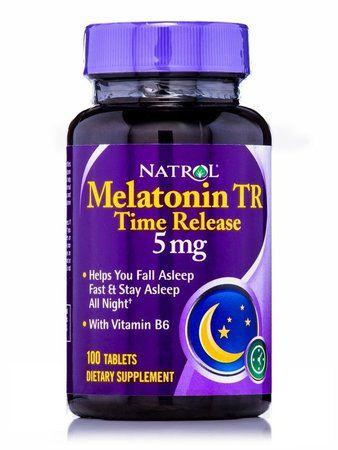 Melatonina 5 mg Time Release (Liberação Gradual) -  Natrol - 100 comprimidos