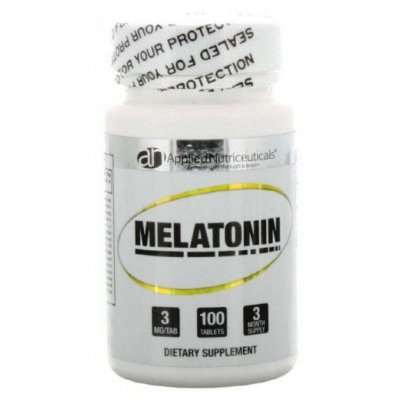 Melatonina 3 mg  - Applied Nutriceuticals - 100 comprimidos