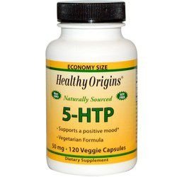 5-HTP 50 mg - Healthy Origins - 120 cápsulas