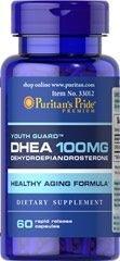 Comprar DHEA 100 mg - Puritan´s Pride - 60 cápsulas