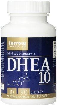 Comprar DHEA 10 mg - Jarrow Formulas - 90 cápsulas
