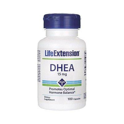Comprar DHEA 15 mg -  Life Extension - 100 cápsulas