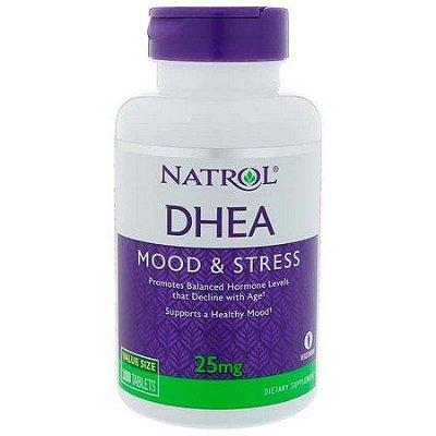 Comprar DHEA 25 mg  - NATROL - 300 comprimidos  - FRETE GRÁTIS
