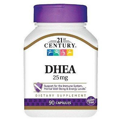 Comprar DHEA 25 mg - 21ST Century - 90 cápsulas