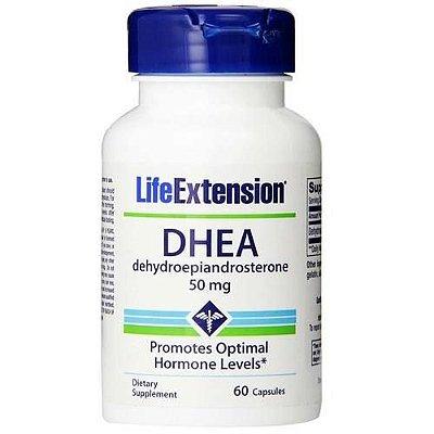 Comprar DHEA 50 mg - Life Extension - 60 cápsulas