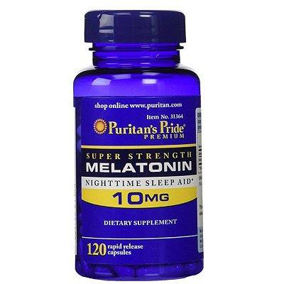 Comprar Melatonina 10 mg - Puritan´s Pride - liberação rápida - 120 cápsulas