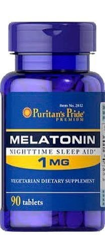 Comprar Melatonina 1 mg Puritans Pride 90 tablets (hormônio do sono)
